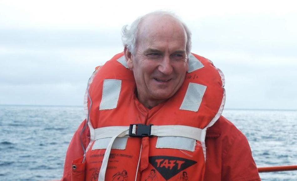Dave McCormack, der sechsmal in der Antarktis überwintert hatte, hat eine starke Leidenschaft für polare Geschichte. Sogar nach seiner Pensionierung reiste er weiter in die Antarktis an Bord der der Aurora Australis. Bild: Frederique Olivier