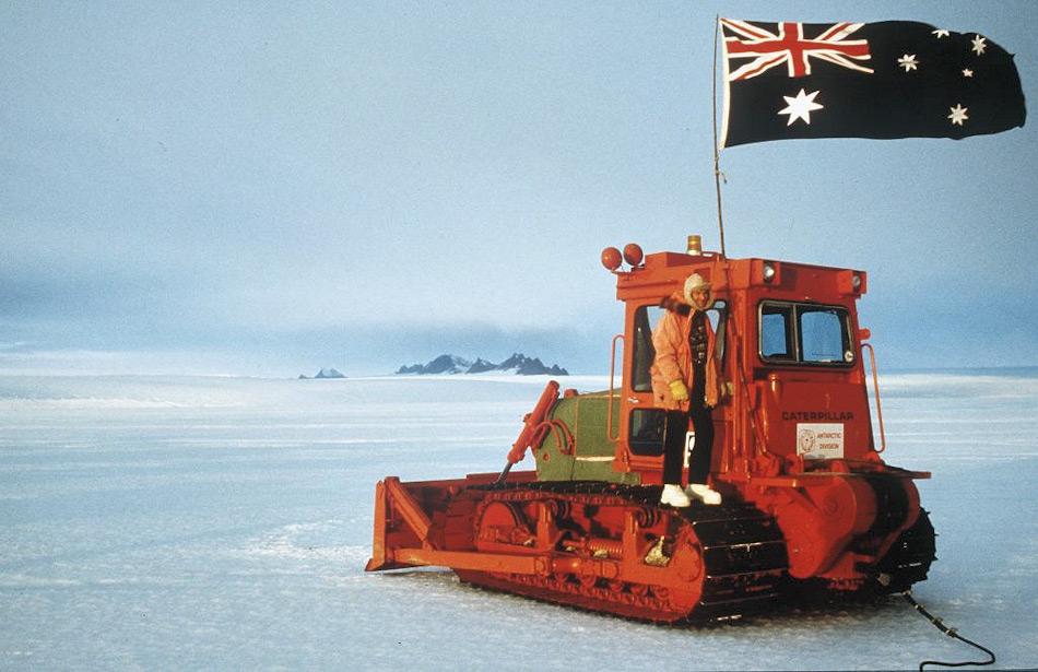 Dave McCormack ist ein richtiger Antarktisveteran. Er hat mehrere Saisons in australischen Antarktis-Stationen verbracht und arbeitete dort als Mechaniker und Inspektor von 1972 bis 1988. Bild: Michael Whittle