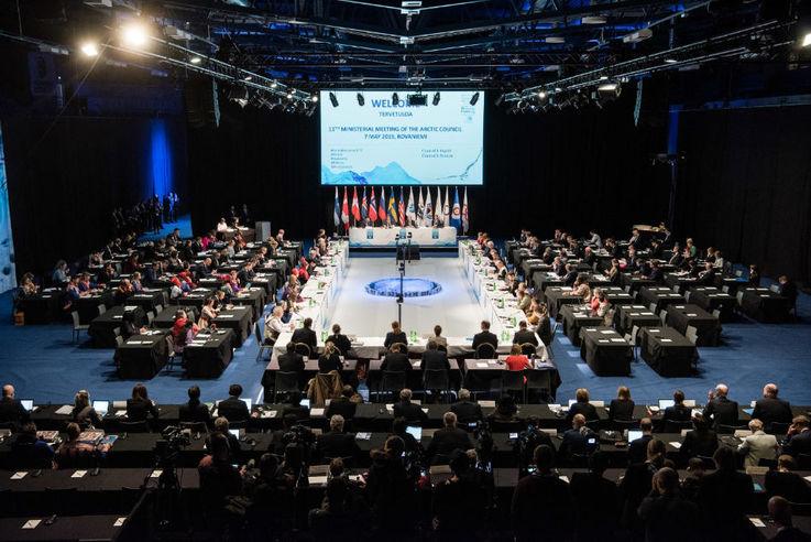 Die Sitzung des Arktischen Rates im finnischen Rovaniemi im Mai. Jouni Porsanger / Ministry for