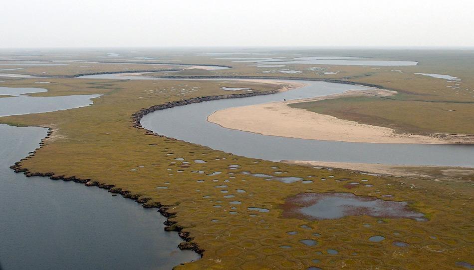 Blick auf das Lena-Delta. Foto: Volkmar Kochan