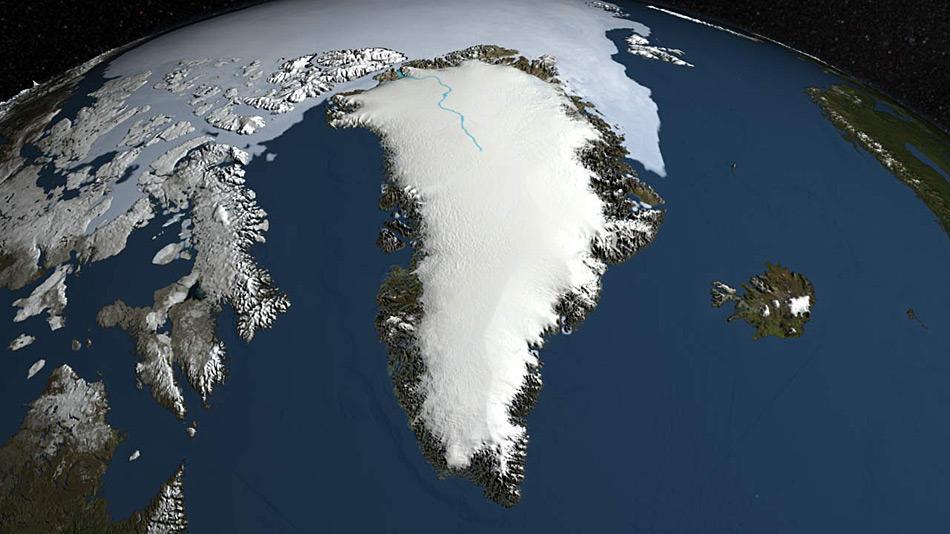 Der zweitgrösste Eisschild der Erde bildete sich in der jetzigen Form vor rund 110'00 Jahren. Aber seine Grösse variierte im Verlauf der Jahrtausende, je nach den herrschenden Klimabedingungen.